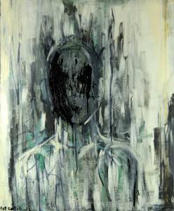 Mutation. Huile et laquée sur toile, 2009