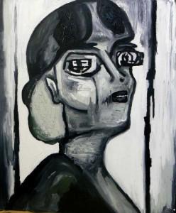 Vaslav. Huile sur toile, 2009