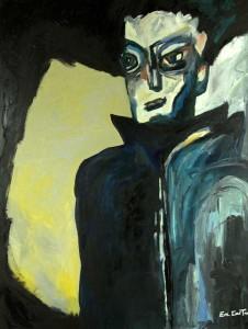 Hommage à Jean Marais. Huile sur toile, 130X96 cm, 2009