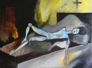 L'auberge Espagnole Huile sur toile, 81X60 cm 2013
