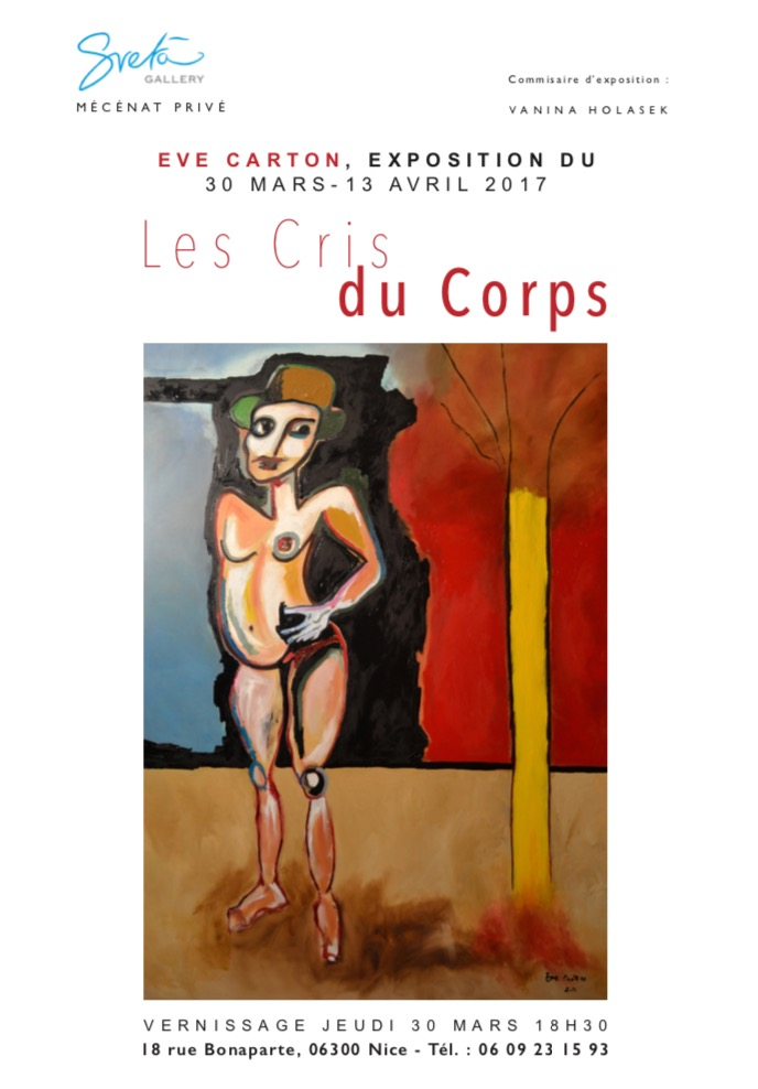 Exposition 30 mars 13 avril Nice Eve Carton
